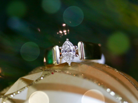 marquise engagement ring, solitaire engagement ring, virginia beach pawn shop, hilltop pawn shop