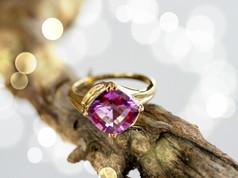 Ametrine Gemstone Ring