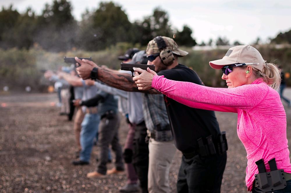 Glenda Craddock, Firearms Training Chesapeake