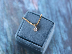 round diamond, necklace, rope chain, virginia beach jewelry store, hilltop pawn