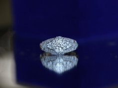 cz ring, engagement ring, virginia beach jewelry store, hilltop pawn shop