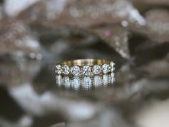 diamond band, yellow gold, virginia beach jewelry store, hilltop pawn