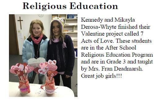 DeRosa Girls Religious Education.jpg