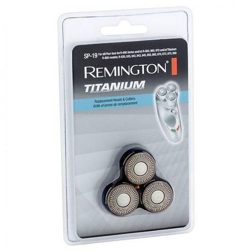 Remington MICROFLEX Titanium Replacement Cutter, 3-units