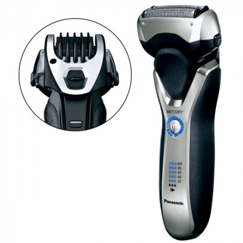 Panasonic Siver 3-Blade Rechargeable Shaver-Trimmer