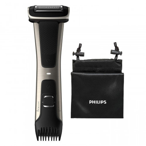 Philips BODYGROOM SERIES 7000 Silver Rechargeable Personal Shaver