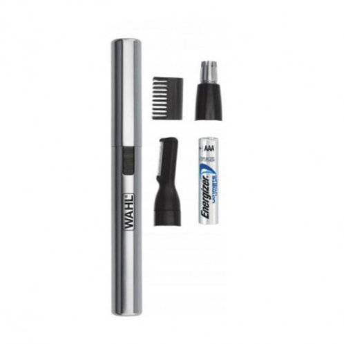 Wahl Battery-Operated Pen Trimmer for Ear, Nose & Brow