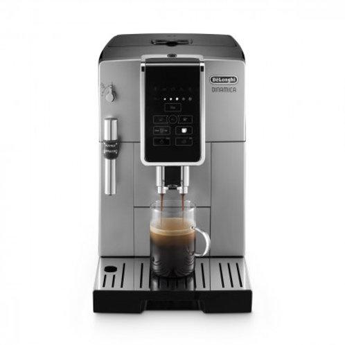 De'Longhi DINAMICA TrueBrew Over Ice Silver Automatic Espresso Machine