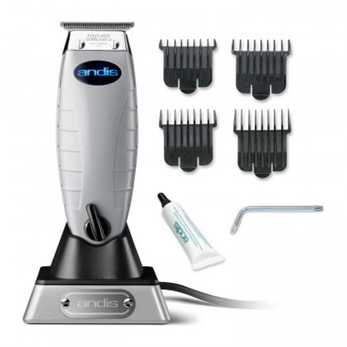 Andis T-OUTLINER Cordless Li Rechargeable Hair Clipper with 4 combs