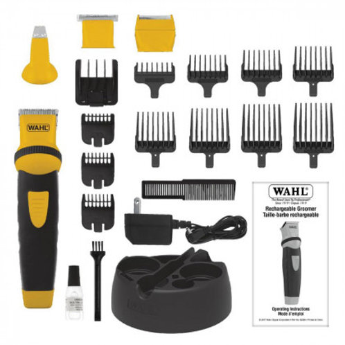 Wahl Rechargeable MULTI-GROOMER PRO Beard Trimmer, 21-Pieces
