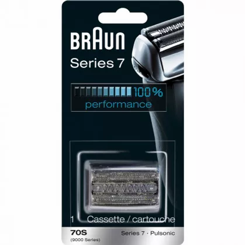 Braun SERIES 7 Silver Replacement Foil and Cutter Cassette