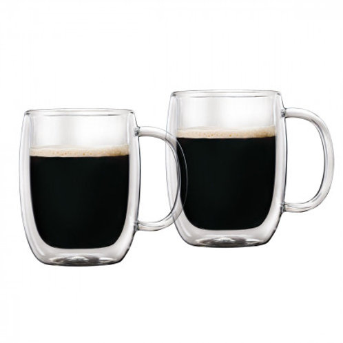 Barista+ 12.3 oz Double Wall Americano Mugs, 2-Piece Set