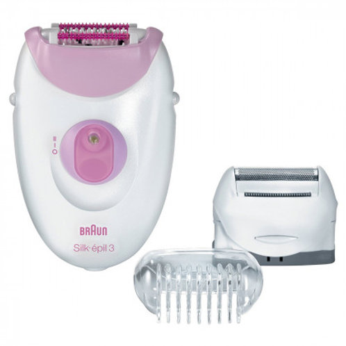 Braun SILK-ÉPIL 3 Epilator with Shaving Head