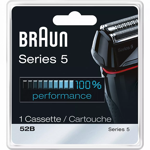 Braun SERIES 5 Black Replacement Foil and Cutter