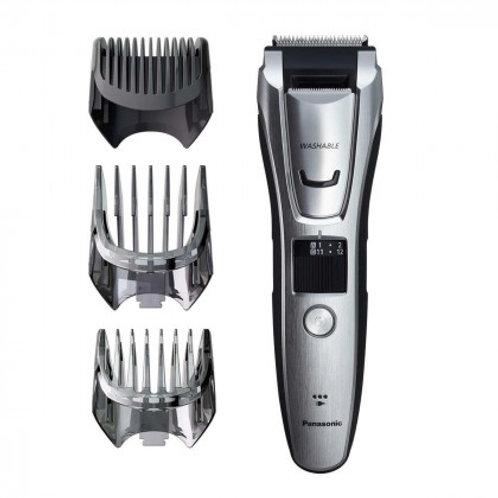 Panasonic Silver 3-in-1 Hair, Beard & Body Rechargeable Trimmer