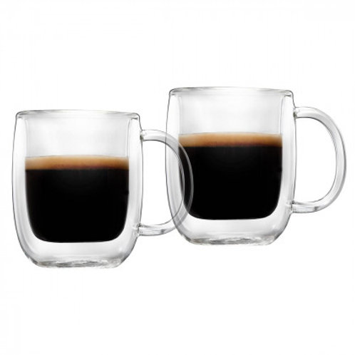 Barista+ 2.8 oz Double Wall Espresso Mugs, 2-Piece Set