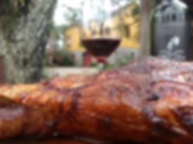 Cordeiro e Vinho na Vinícola Cainelli