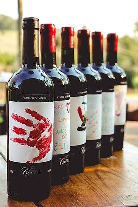 Presente de vinho individual