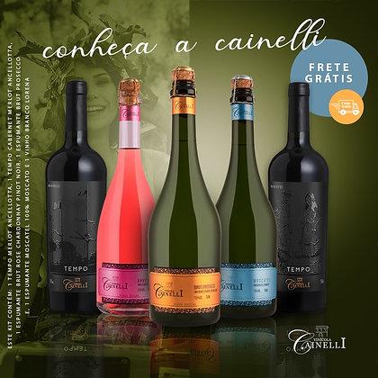 Kit Conheça a Cainelli