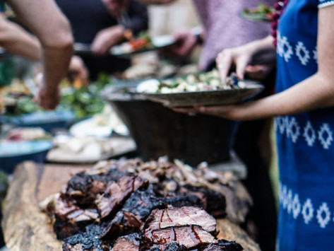 Barbecue and Blue Jeans