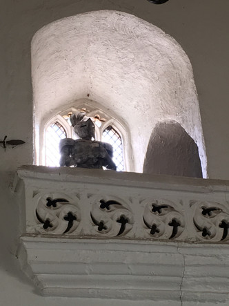 Knight in Great Hall.JPG