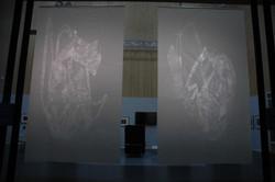 Large Patina Light  installation view 1