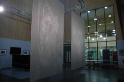 Large Patina Light  installation view 2