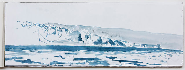 Emma Stibbon RA, 'Glacier Terminus, Anta