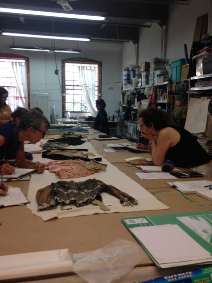 Drawing Habits at Contemporary Textile Studio Canada