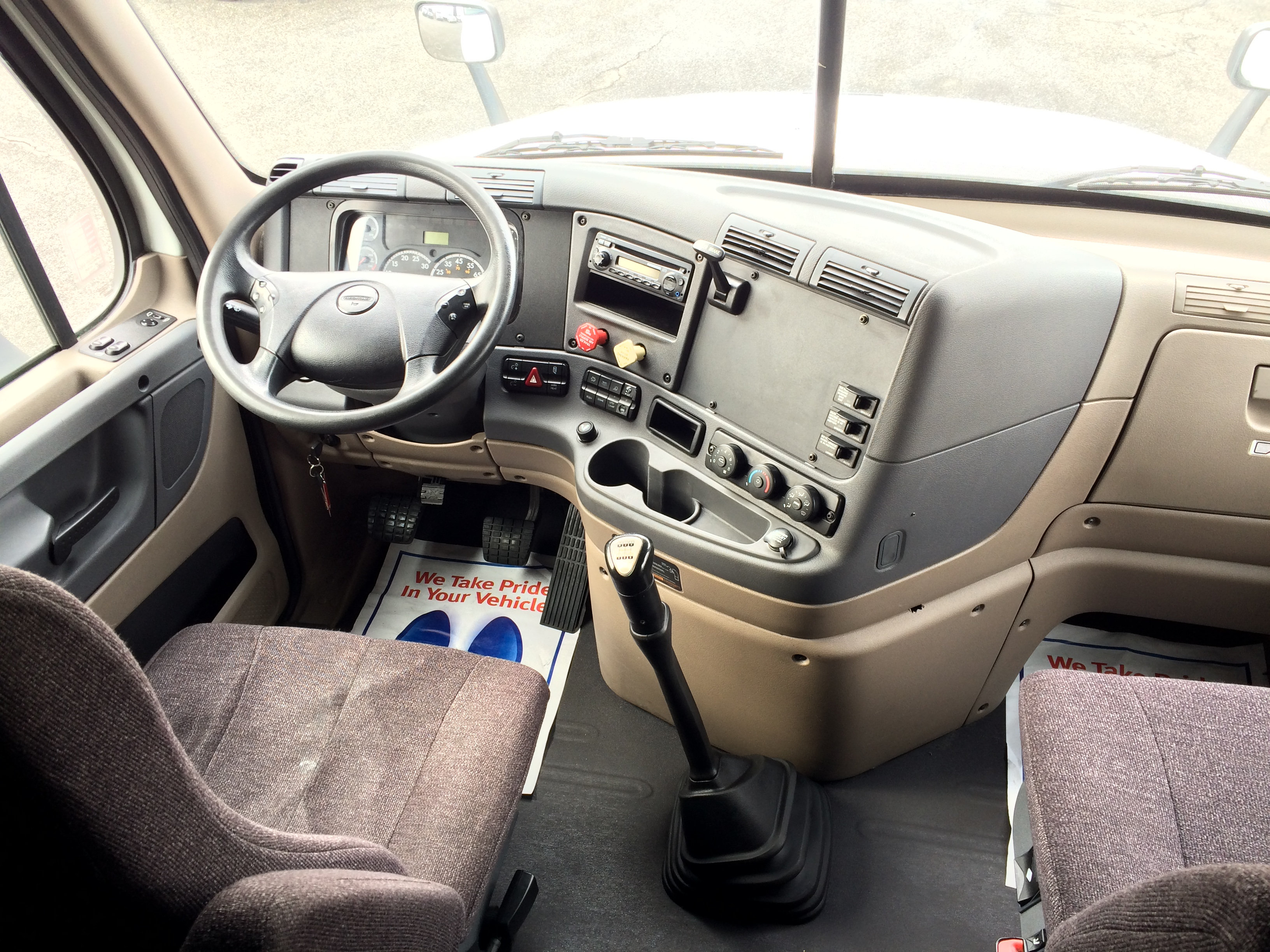 2014 Freightliner Cascadia Website