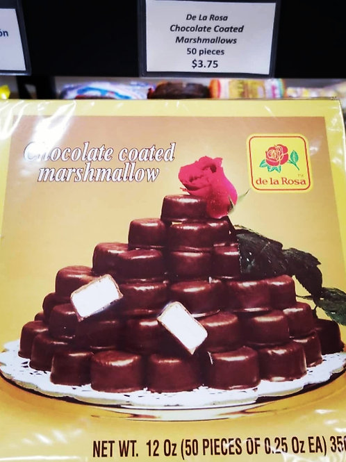 DLR Chocolate Covered Marshmallows 50 ct.