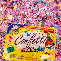 New confetti package