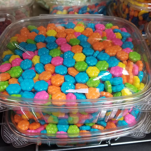 Flower Power Costed Pressed Candy - 2 lbs.