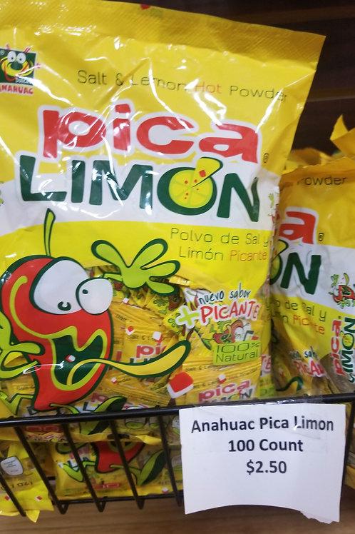 Anahuac Pica Limon 100 ct. (Net Wt. 400 g.)