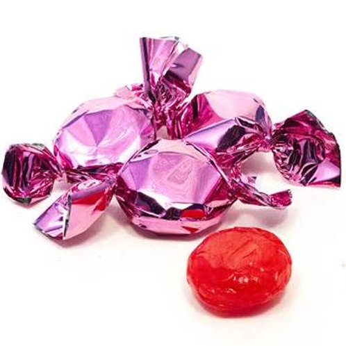 Pink Foil Wrapped Hard Fruit Candy - 3 lbs.