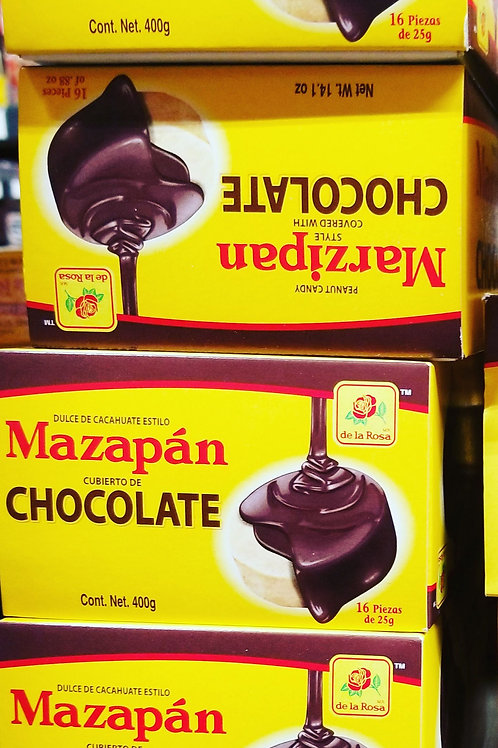 Chocolate Covered Mazapan 16 ct. Reg. Size