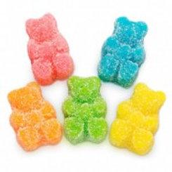 Albanese Sour Neon Beep Gummi Bears - 4.5 lb. Bag
