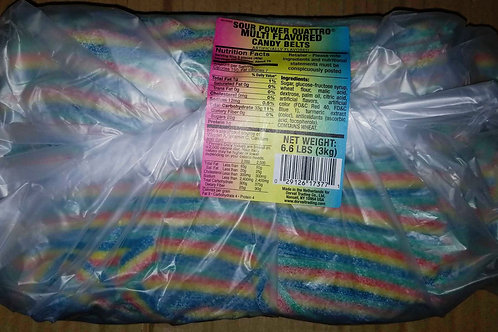 Sour Power Candy Belt Bundles 6.6 lbs.