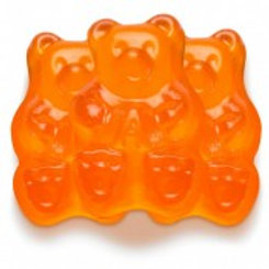 Albanese Orange Gummi Bears - 5 lb. Bag