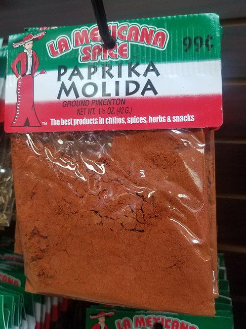 Ground Paprika 1.5 oz.