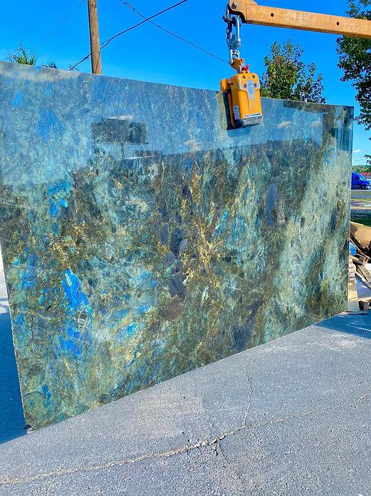 exotic marble slab