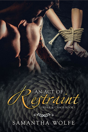 An Act of Restraint - cropped paperback