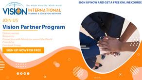 Vision Partner Program - FREE