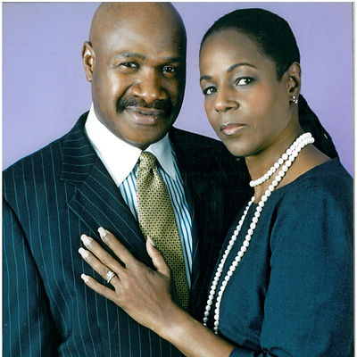 Rev. Green and first lady Gloria Green.j