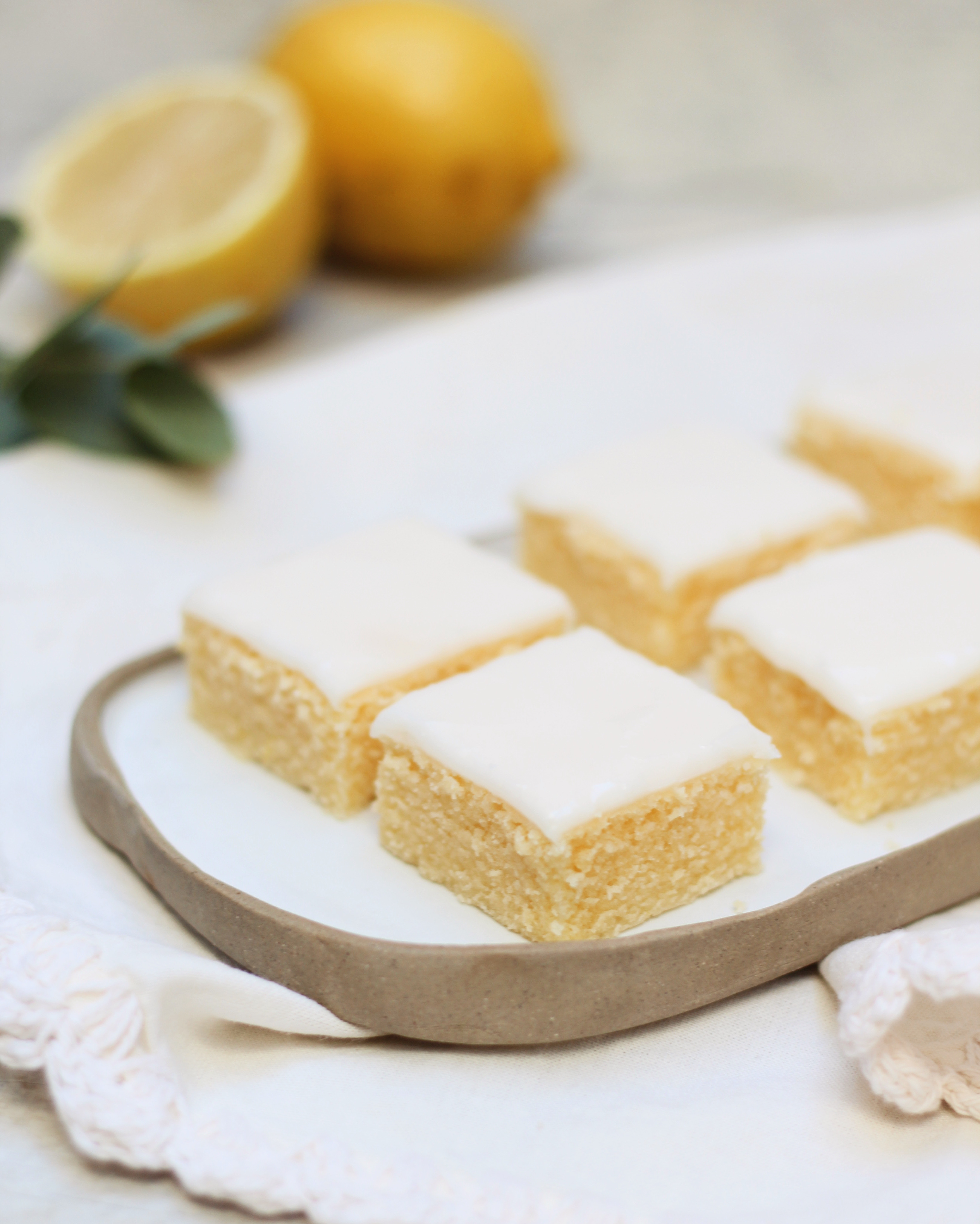 Cuadrados de limón