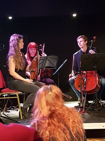 Trio, Cello, London, Szymon Pawlas