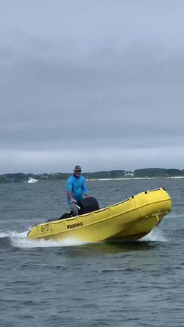Test ride on new 455R with 40 Hp Yamaha