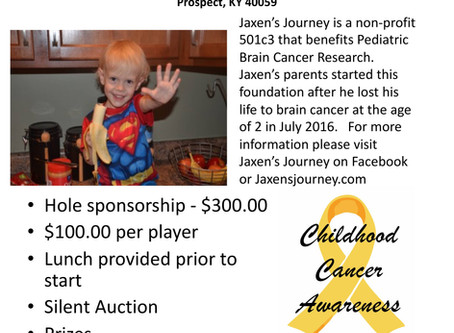 Jaxen's Journey Golf Tournament