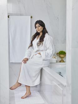 Teka Roupão - Banheiro