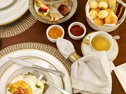 Teka Mesa café da manhã - Hotel Vila do Vale
